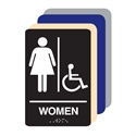 Picture of Women Accessible ADA Restroom Sign