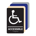 Picture of Handicap Accessible ADA Restroom Sign